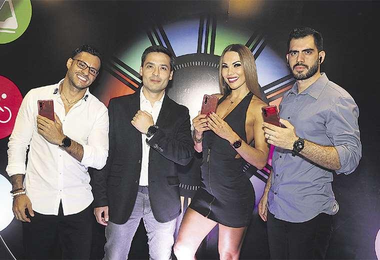 Embajadores. Sergio Sagárnaga, Humberto Oroza, Marioly Galarza y Hermes Aponte