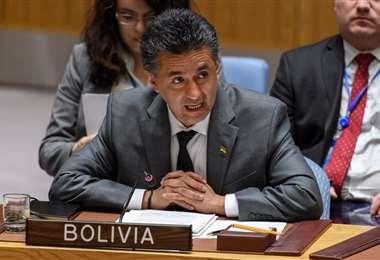El exembajador de Bolivia ante la ONU I Foto: archivo.