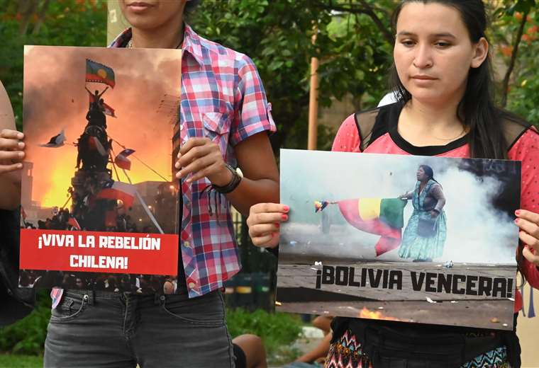 La polarización política en distintos países de América Latina se ha colado a las relaciones sociales.Foto: AFP