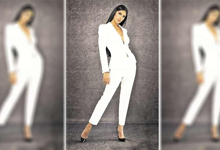Venezuela. Isabella Rodríguez es de la ciudad de Petare y tiene 26 años. Foto: Org. Miss Mundo