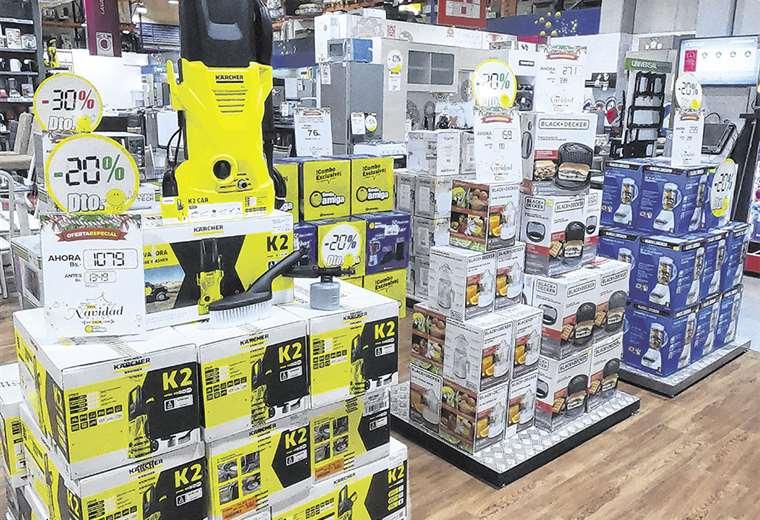 Todas las líneas de equipamiento para el hogar, desde muebles a electrodomésticos, a buen precio