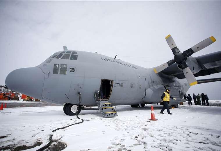 El Hércules C-130 (Javier Torres / AFP)