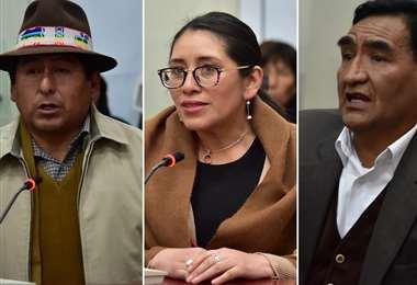 Tribunal Supremo Electoral, en plenas entrevistas (AFP)