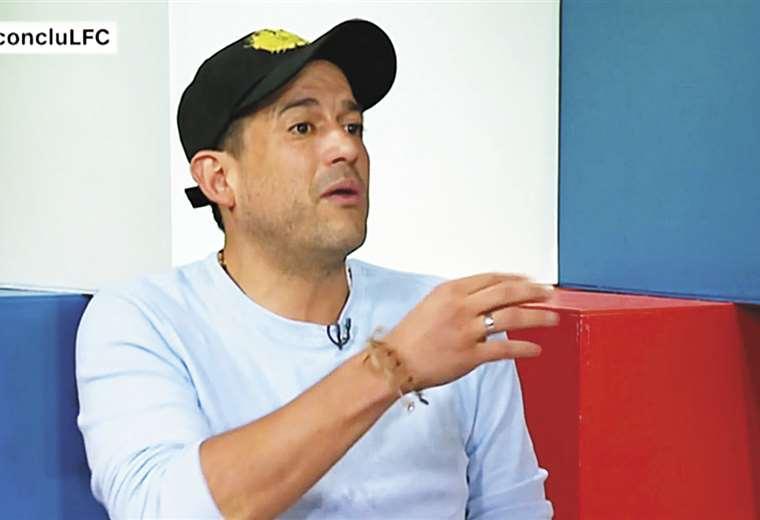 Luis Fernando Camacho, fue encarado por el periosta de CNN I Foto: EL DEBER