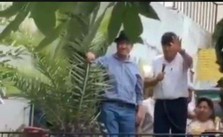 El exjefe de Estado refugiado en la vecina nación I Foto: captura.