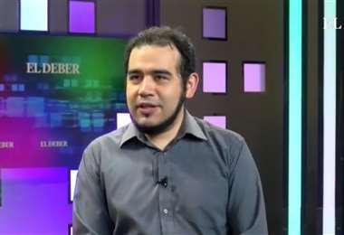 Édgar Villegas (captura del video que muestra la entrevista)
