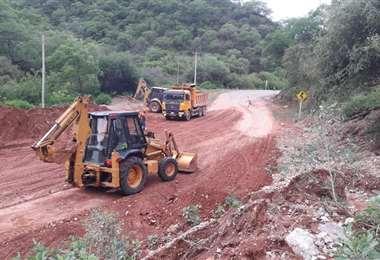 La ABC viene realizando diferentes trabajos de mantenimiento de las carreteras. Foto: ABC