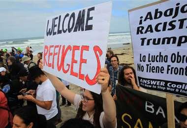 Manifestaciones a favor de los inmigrantes en Estados Unidos | AFP archivo
