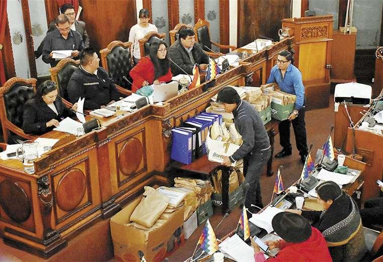 El 22 de enero de 2020 finaliza el periodo constitucional de la Asamblea Legislativa Plurinacional. Foto: APG Noticias