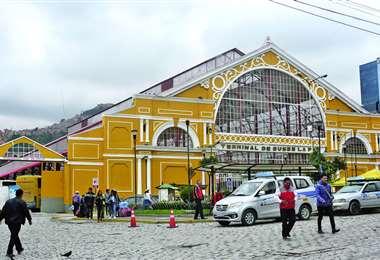 Terminal de buses de la ciudad de La Paz | Foto: Archivo