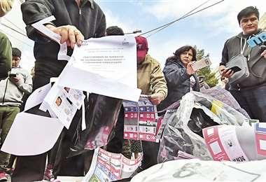 Los comicios del 20 de octubre fueron anulados por fraude electoral. Foto: ARCHIVO / APG NOTICIAS