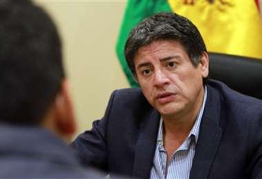 El exministro Jerjes Justiniano, en entrevista con EL DEBER. Foto: Presidencia
