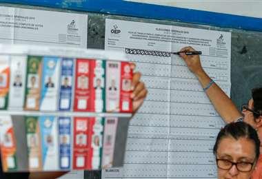 Una auditoría de la OEA confirmó que hubo fraude en las elecciones generales del 20 de octubre. Foto: Gabriel Vásquez