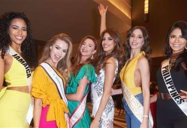 Candidatas al Miss Universo