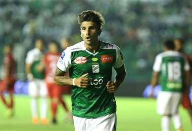 Lucas Mugni será el conductor de Oriente ante San José en el estadio Jesús Bermúdez. Foto. Archivo DIEZ