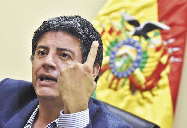 Jerjes Justiniano fue parte del gabinete de la presidenta Jeanine Áñez durante 20 días. Se fue el martes