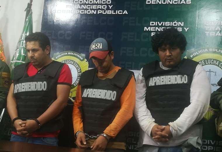 Los hermanos Salvatierra y su primo fueron capturados por la Policía