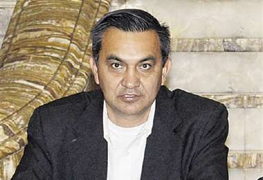 El ministro de la Presidencia, Yerko Núñez, defendió a Áñez. Foto: ABI