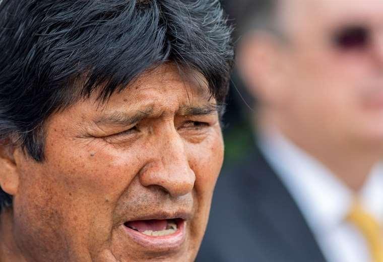 El expresidente Evo Morales. Foto: Archivo