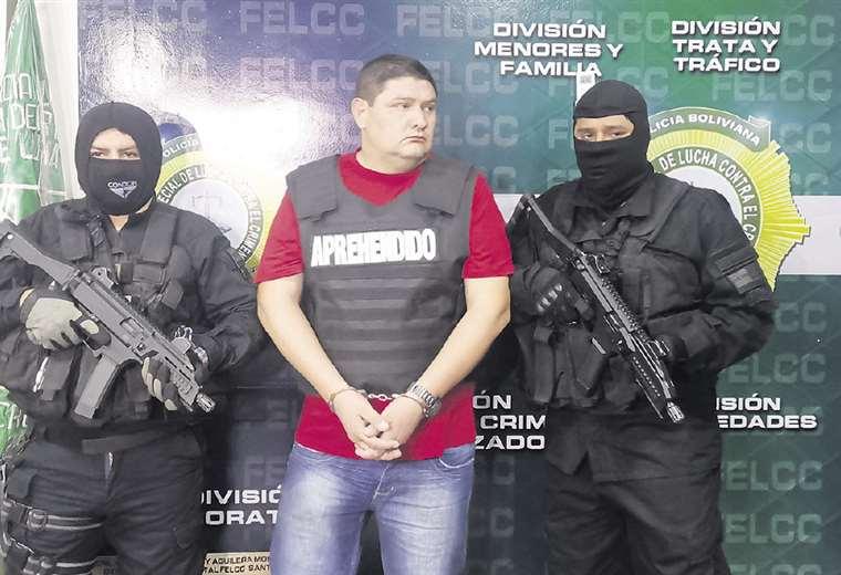 La organización criminal está compuesta por varias personas; algunas ya están . Jorge Gutiérrez