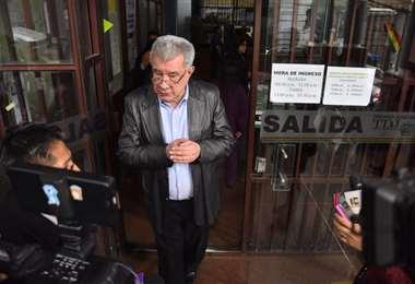 El exprefecto de Pando es procesado por el caso Porvenir I Foto: APG Noticias.