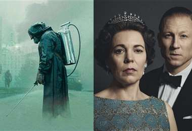 Imágenes de Chernobyl y The Crown