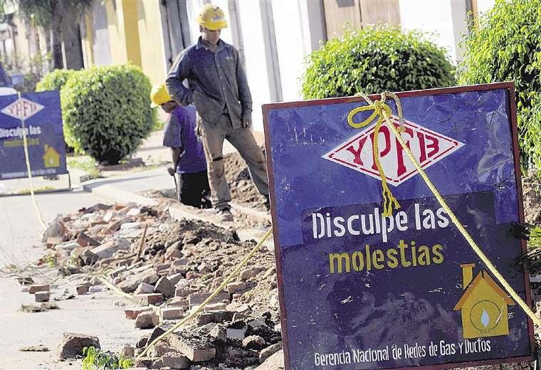 No hay renovación de trabajadores en YPFB.