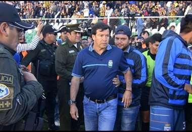 Erwin Sánchez fue criticado en La Paz