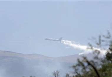 Supertanker inició su trabajo en Cochabamba