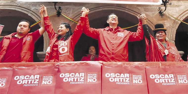 Bolivia Dice No obtuvo el 4,2% en las elecciones generales pasadas que fueron anuladas. Busca llegar a consensos para armar un bloque. Foto: APG Noticias