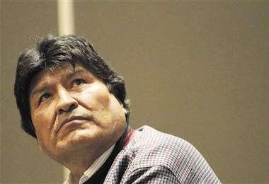 Morales es investigado por una conversación con Faustino Yucra, en la que ordenaba el cerco a las ciudades. Foto: APG NOTICIAS