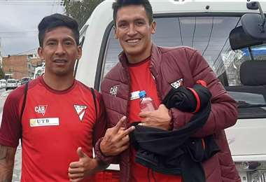 Jair Torrico y Marcos Barrera trabajaron en Always Ready este lunes. Foto: Always Ready Noticias