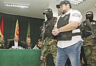 Montenegro antes de ser extraditado a Brasil calificó de narcobierno al régimen de Evo Morales