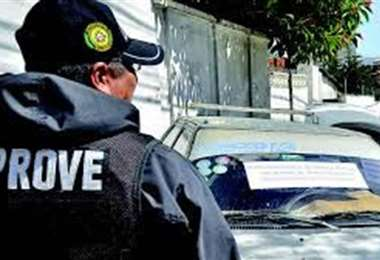 El líder 'autero' estuvo cinco veces en Palmasola. Los autos robados eran llevados a Chapare