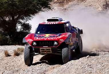 Peterhansel es uno de los pilotos más ganadores en la historia del Dakar. Foto. AFP