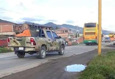 Los militares llegaron al trópico cochabambino