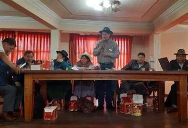 La reunión tuvo lugar esta jornada en La Paz I Foto: archivo.