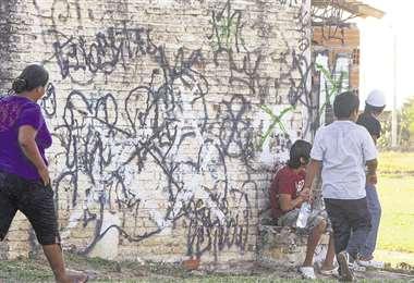 En el Plan, las pandillas casi fueron exterminadas, pero se están rearticulando. Foto: creciente desconfianza en las insJORGE GUTIÉRREZ