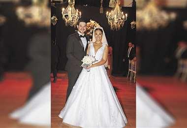 Novios. Yusef Vaca y Alejandra Perrogón. Foto: Ángel Farell