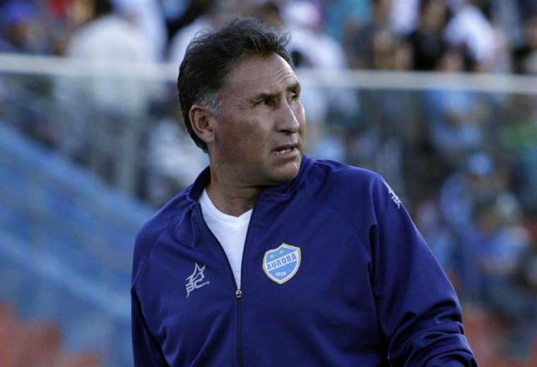 Ferrufino, técnico boliviano que dirigió en 2019 a Aurora y Real Potosí. Foto: Archivo