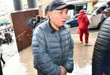 Antonio Costas en instancias judiciales I Foto: APG Noticias.