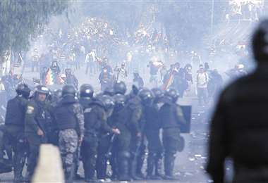 Los sectores prometen no promover enfrentamientos, como los que se registraron en Sacaba, Cochabamba, durante el mes de noviembre. Foto: Archivo