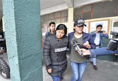 Terán es acusada de falsedad ideológica y uso de instrumento falsificado. Foto: APG