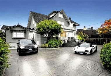 Mansión. Si los aún duques de Sussex compran esta casa tendrán que pagar $us 117.167 al año por impuestos