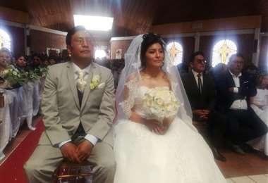 Hugo Rodríguez y Soledad Chapetón