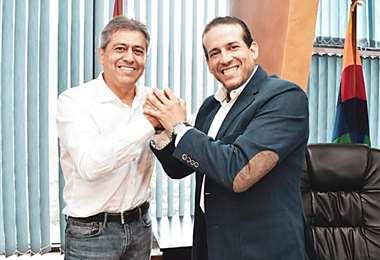Mario Cossío es aliado de Luis Fernando Camacho. Foto: Redes sociales
