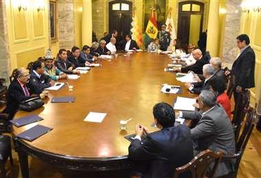 En las próximas horas se confirmará la composición del Gabinete I Foto: APG Noticias.