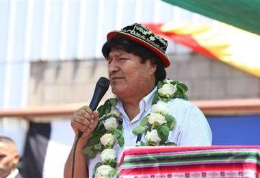 El expresidente se refirió a las candidaturas que hay en Bolivia. (Foto: Twitter Evo Morales)
