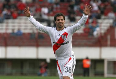 Matías Abelairas debutó en River Plate y ahora jugará en Bolivia con Palmaflor