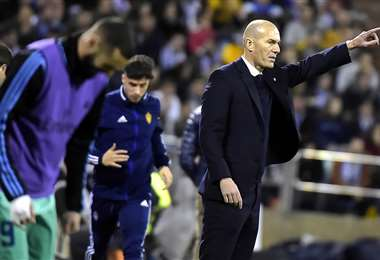 Zinédine Zidane, DT del Real Madrid. Foto: AFP